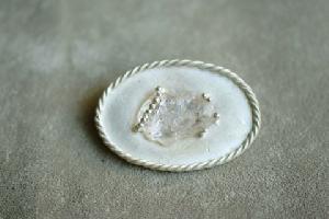 morganite brooch